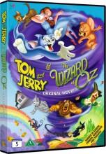 tom og jerry og troldmanden fra oz - DVD