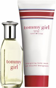 gaveæske: tommy girl edt 30 ml & body wash 100 ml - Parfume
