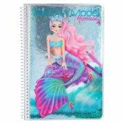design bog - top model - mermaid - Kreativitet