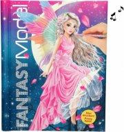 top model fantasy malebog med lys & lyd - Kreativitet