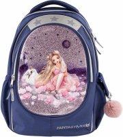 top model fantasy skoletaske - ballet - navy farve - Skole