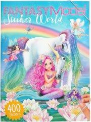 fantasy model - stickerworld - 400 stickers - top model - Kreativitet