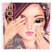 top model - malebog med motiver og stickers - Kreativitet