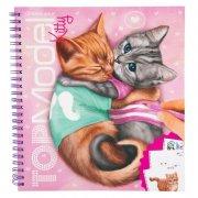 top model - kitty malebog med katte - Kreativitet
