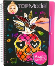 top model scratch bog - tropisk - Kreativitet