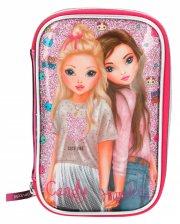 top model penalhus - pink - Skole