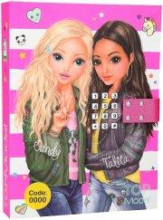 topmodel - diary w. code & music - pink (0410117) - Diverse