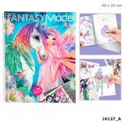 fantasy model - malebog med 198 klistermærker - Kreativitet