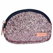 top model - pung med glitter - pink - Diverse