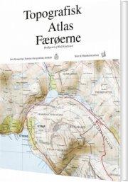 topografisk atlas færøerne - bog