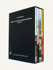 træk af byudviklingens historie, bind 1-4 - bog