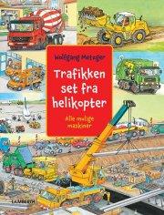 trafikken set fra helikopter - bog