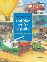 trafikken set fra luftballon - bog