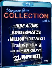 trainspotting // 21 jump street // bridesmaids // ride along // the other guys // a million ways to die in the west - Blu-Ray