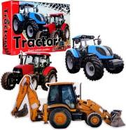 traktor puslespil - 45 x 30 cm - Brætspil