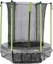 lille trampolin med net til små børn - 182cm diameter - Udendørs Leg