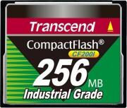 transcend compactflash cf200i 256 mb industrial grade - Lagring