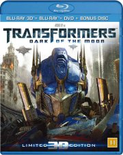 transformers 3 the dark of the moon - 3D Blu-Ray