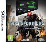 transformers: dark of the moon - decepticons bundle med legetøj - nintendo ds