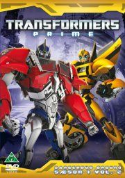 transformers prime - sæson 1 - vol. 2 - dangerous ground - DVD