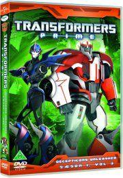 transformers prime - sæson 1 - vol. 3 - decepticons unleashed - DVD