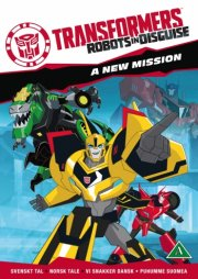 transformers - robots in disguise a new mission - sæson 1 vol. 1 - DVD