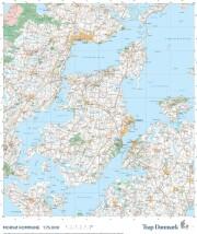 trap danmark: over morsø kommune - bog