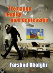 tre gange dagligt mod depression - bog
