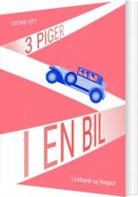 tre piger i en bil - bog