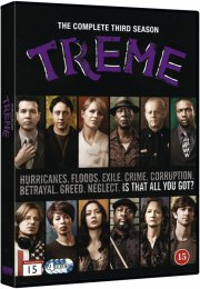 treme - sæson 3 - hbo - DVD