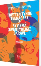tretten tynde teenagere & syv små (eventyrlige) skravl - bog