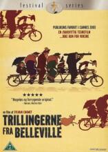 trillingerne fra belleville - DVD