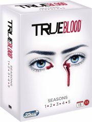 true blood - sæson 1-5 - hbo - DVD