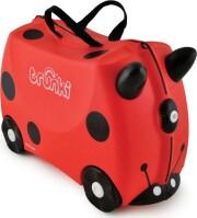 trunki kuffert - mariehøne - harley ladybird - Babyudstyr