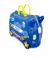 trunki kuffert - politibil - percy the police car - Babyudstyr