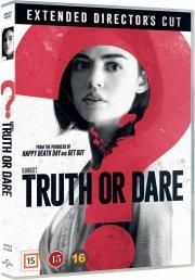 truth or dare - the movie - 2018 - DVD