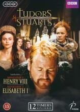 tudors & stuarts - henry viii & elisabeth i - DVD
