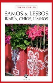 turen går til samos, lesbos, ikaría, chíos, límnos - bog