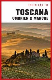 turen går til toscana, umbrien & marche - bog