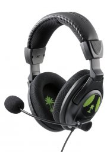 turtle beach x12 xbox 360 gamer / gaming høretelefoner - Gaming