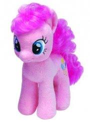 pinkie pie my little pony bamse - ty beanie boo bamse - 27 cm - Bamser