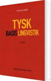 tysk basislingvistik - bog