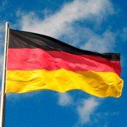 tysk flag - 150x90 cm. - Merchandise