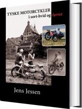 tyske motorcykler i sort-hvid og farver - bog