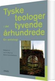 tyske teologer i det tyvende århundrede - bog