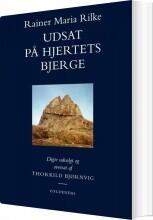udsat på hjertets bjerge - bog