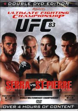 ufc 83: serra vs st-pierre 2 - DVD