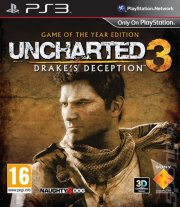 uncharted 3: drake's deception - game of the year edition - PS3