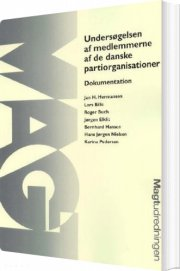 undersøgelsen af medlemmerne af de danske partiorganisationer - bog