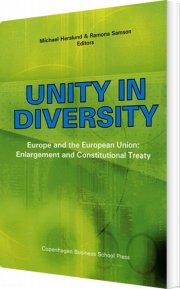 unity in diversity - bog